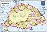 A Magyar Szent Korona országai 3 dimenziós képeslap