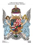 A Magyar Szent Korona címere könyöklő