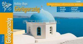 Görögország hajtogatott autótérkép
