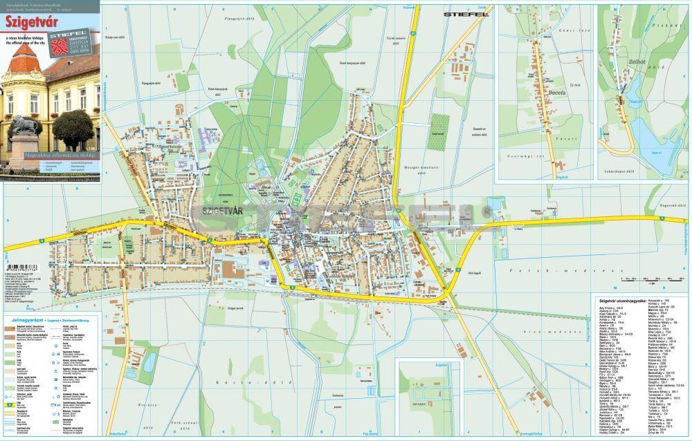 szigetvár térkép Szigetvár térkép hajtott szigetvár térkép