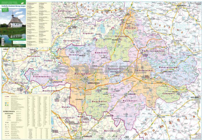 szabolcs megye térkép Szabolcs Szatmár Bereg megye szabolcs megye térkép