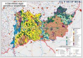 Dél-Alföldi régió genetikus talajtérképe