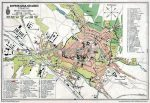 Sopron Szabad Királyi város térképe fakeretben