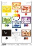 Színtabló (gyerekposzter fóliás-fémléces)