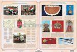 Magyar nemzeti jelképek / Magyar nemzeti ereklyék tabló könyöklő