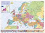 Európa országai XXL óriás poszter