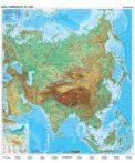 Ázsia, domborzati + politikai DUO