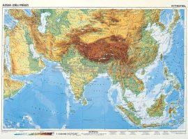 Dél-Ázsia, domborzati + politikai DUO