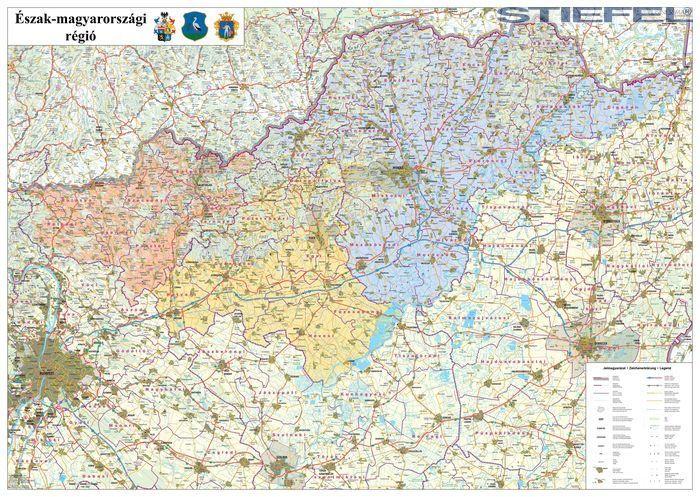észak magyarország térkép Az Észak magyarországi régió járástérkép észak magyarország térkép
