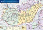 Magyarország vasúti árufuvarozási térképe