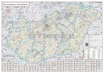 Magyarország Fürdőtérképe hajtogatott