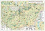 Magyarország turisztikai térképe keretezett