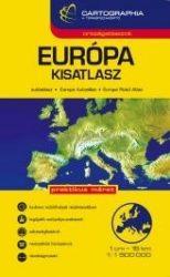 """Európa autóatlasz spirál """"kicsi"""" (kesztyűtartó méret)"""