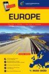 Európa kötött atlasz 1:800e