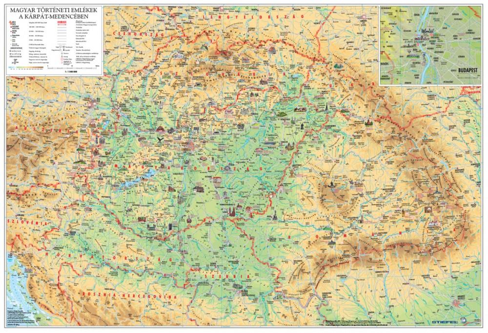 magyarország térkép városnevekkel A Magyar Szent Korona országai/Magyar történelmi emlékek a Kárpát  magyarország térkép városnevekkel