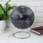 Földgömb - Krétával rajzolható, 20 cm átmérőjű