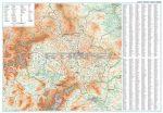 Koszovó földrajzi térkép