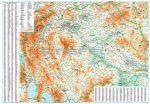 Macedónia általános földrajzi térképe