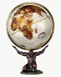 Földgömb Atlas 30 cm