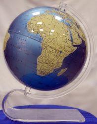 Földgömb Aquamarin 30 cm, angol nyelvű