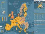 Speciális Európa térképek