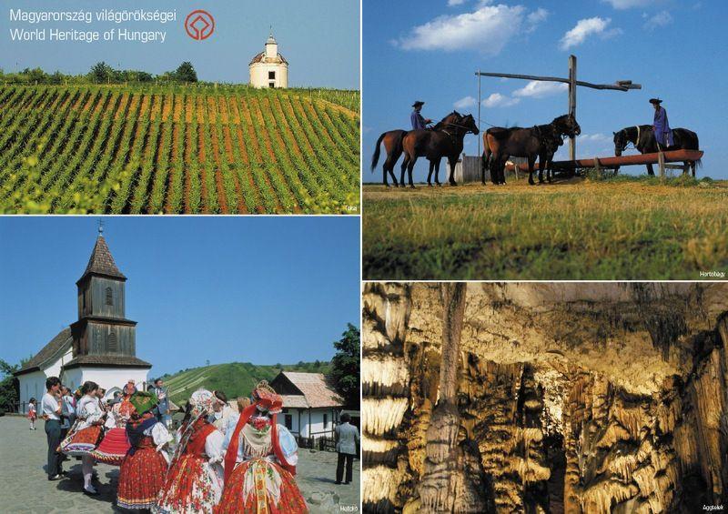 Magyarország világörökségek-tányéralátét