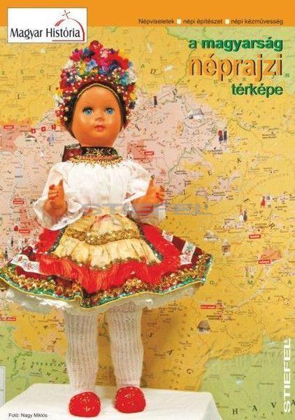 Magyar néprajzi térkép, hajtogatott DUO