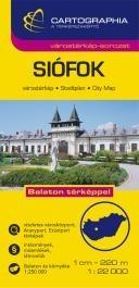 Siófok várostérkép (+Balaton tkp.)