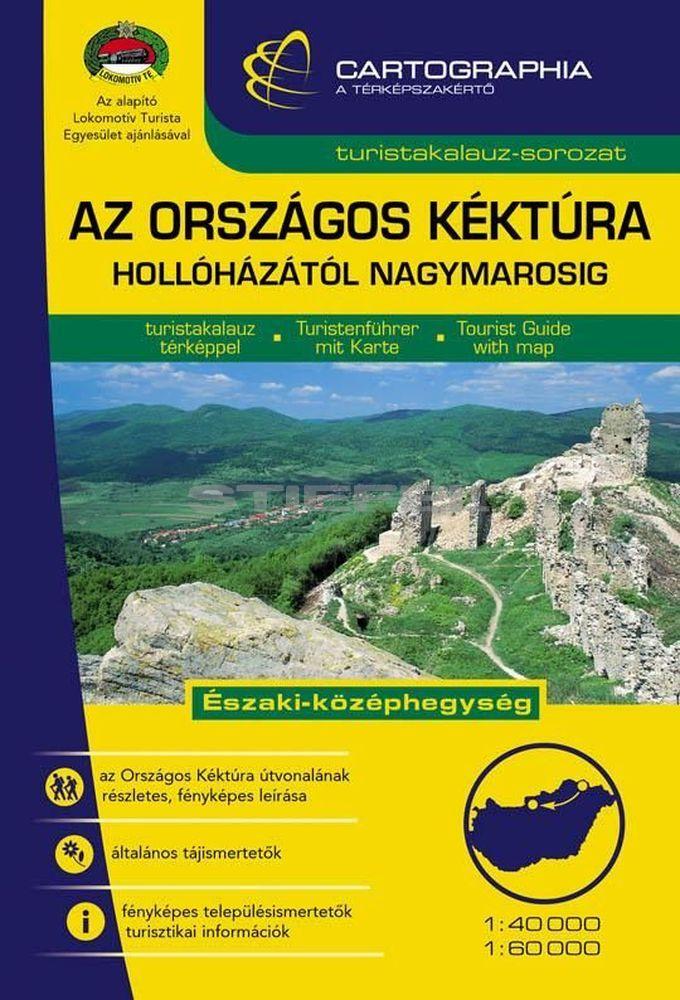 Az Országos Kéktúra I. (Északi-középhegység) turistakalauz