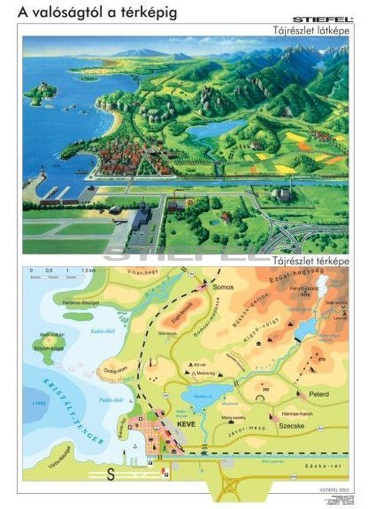 A valóságtól a térképig
