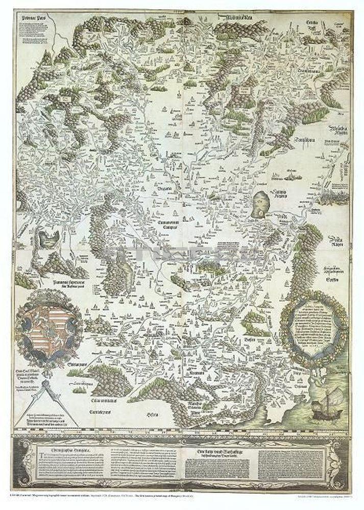 Tabula Hungariae Lazarus (1528)