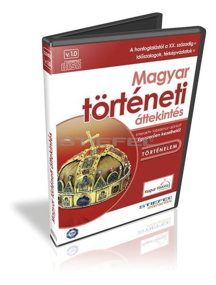 Magyar történeti áttekintés a honfoglalás korától CD,Digitális tananyag