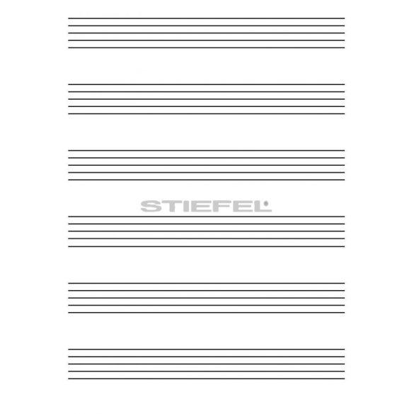 Zenei ötvonalas írótabló