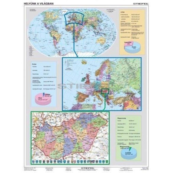 Helyünk a világban (A Föld, Európa és Magyarország)