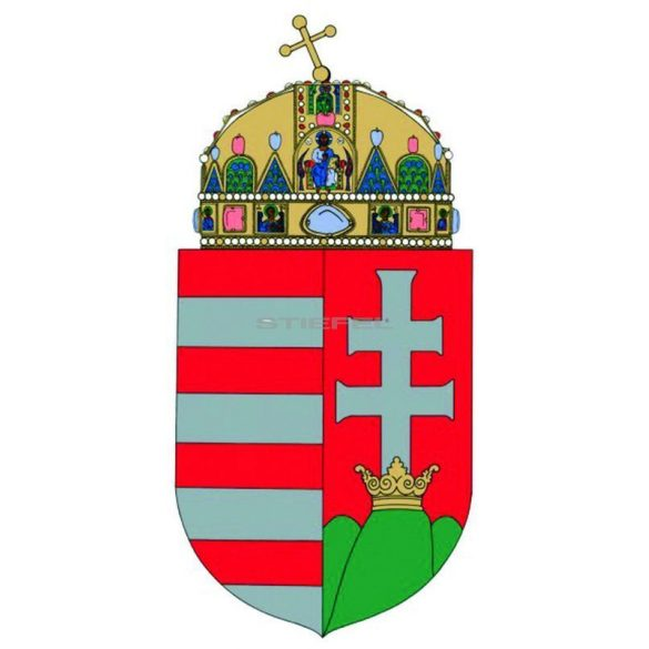 A Magyar Köztársaság címere A3 méretben fémléces