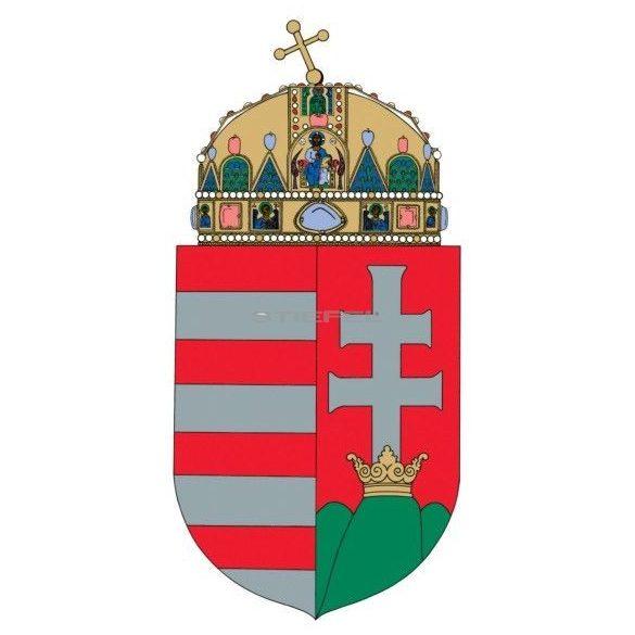 A Magyar Köztársaság címere könyöklő