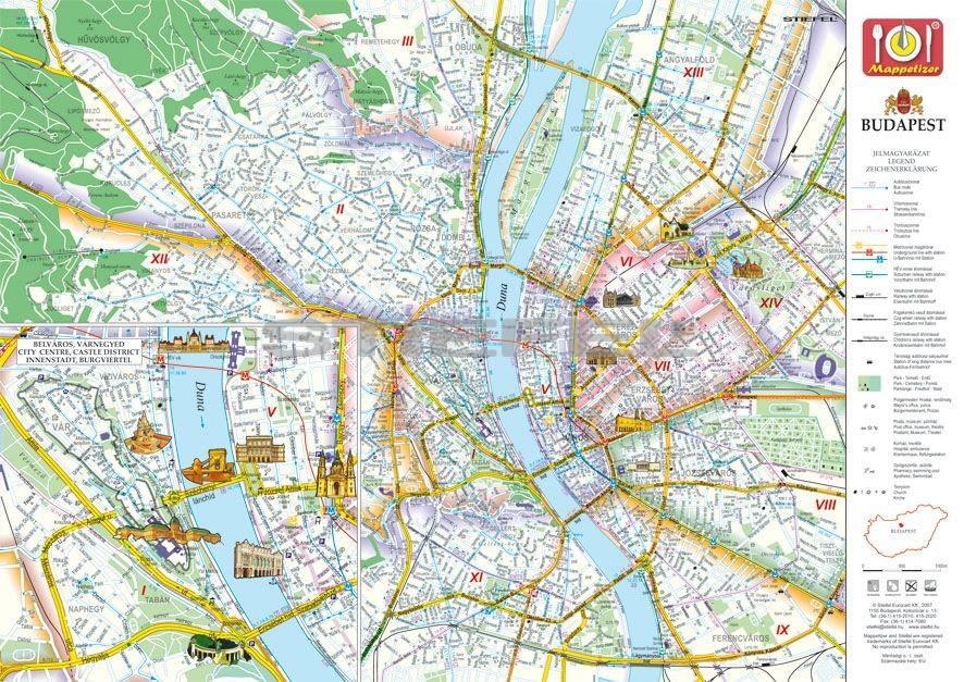 Budapest Kepekben Tanyeralatet Konyoklo Hatoldalon Budapest
