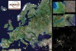 Föld űrfotó asztali alátét A3 duo