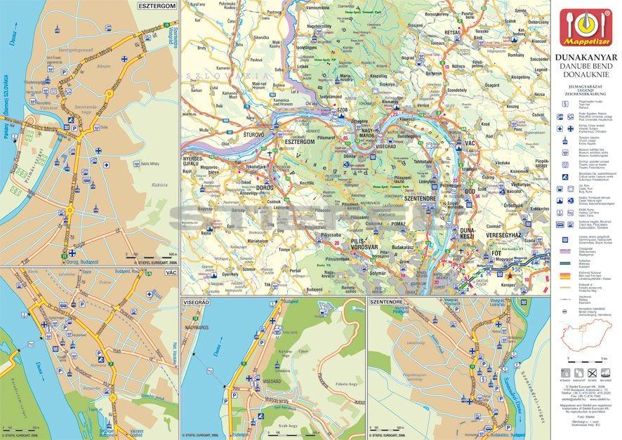 Esztergom Város Térkép