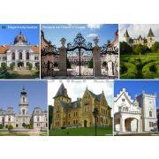 Magyarország kastélyai- tányéralátét