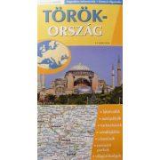 Törökország hajtogatott autótérkép