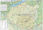 A Dél-Dunántúli régió térképe