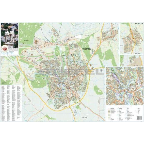 Veszprém várostérképe