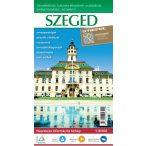 Szeged hajtogatott várostérképe