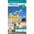 Debrecen várostérkép (hajtogatott, puhaborítós)