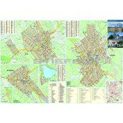 Kiskőrös-Soltvadkert-Kecel fémléces térképe