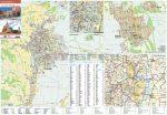 Szekszárd és Szekszárdi borvidék térkép fémléces