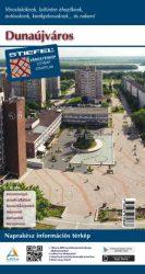 Dunaújváros térkép hajtogatott