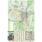 Zalaegerszeg fémléces várostérképe