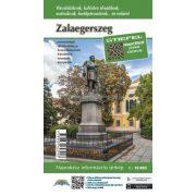 Zalaegerszeg város térképe hajtogatott